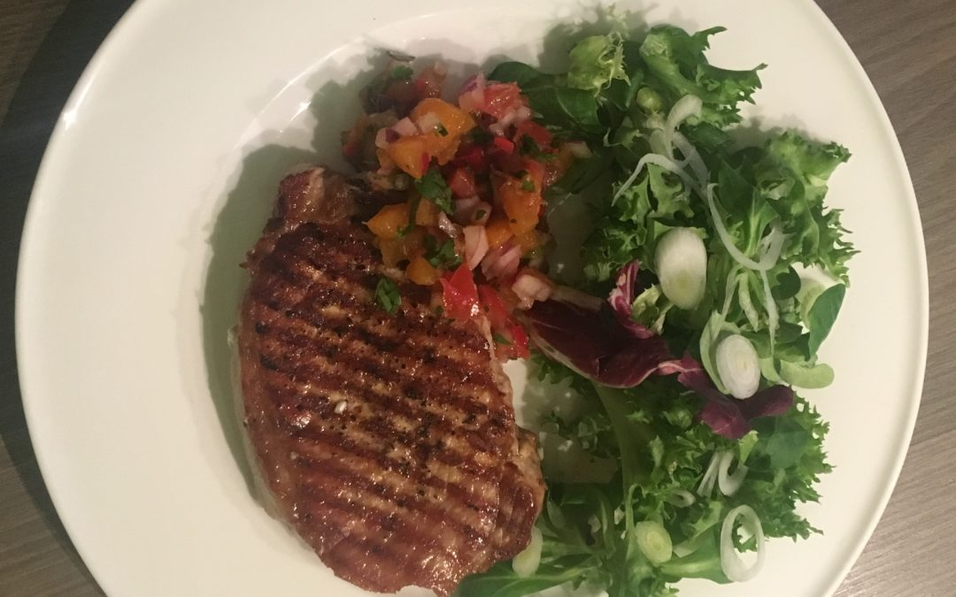 Recipe of The Week – Pork Loin with Apricot Salsa